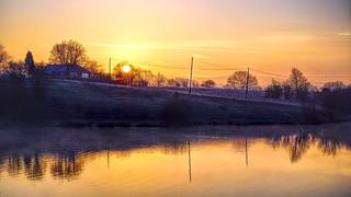 Sun Rising Over Crime Farm