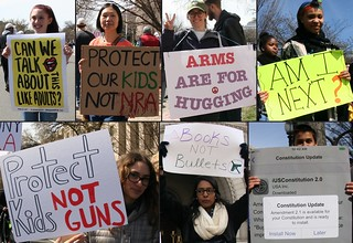 And a few more signs at the March For Our Lives Rally
