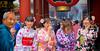 Hilarity Ensues (Joe Le Merou) Tags: japan laugh hilarity kimono old young sonya7 tokyo temple