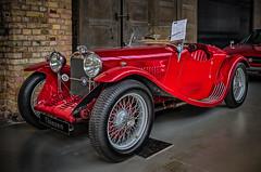 LAGONDA RAPIER CONVERTIBLE (Peter's HDR-Studio) Tags: petershdrstudio hdr classiccar lagonda convertible oldtimer cabriolet klassiker auto red rot