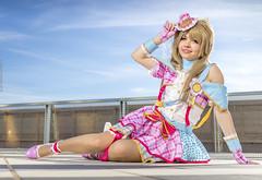 _MG_7347 (Mauro Petrolati) Tags: romics 2018 cosplay cosplayer laura libra kotori minami love live neko pink mini dress