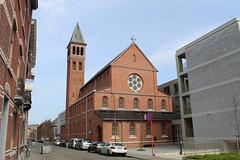 Sint-Alfonsuskerk, Leuven (Erf-goed.be) Tags: sintalfonsuskerk kerk raymondlemaire leuven archeonet geotagged geo:lon=47082 geo:lat=50872 vlaamsbrabant