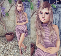✿.。.:* Look 1807 *.:。 ✿ (.❀ Auryn Ruby ❀.) Tags: exile collabor88 laq mm candydoll paparazzi shinyshabby backdropcity
