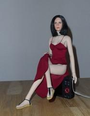 Kate in burgundy dress (greedo06) Tags: kate burgundy dress beckinsale