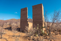 Just Another Day (Wayne Stadler Photography) Tags: 2018 courtland wildwest west southwest ruins derelict ghosttown ghosttowntrail stoneruins desert arizona usa abandoned stones towns