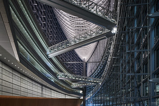 Tokyo International Forum at Night
