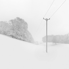 Chill Out! (www.neilburnell.com) Tags: chill snow frozen cold mono monochrome minimal minimalism minimalistic neil burnell wwwneilburnellcom brixham devon ngc