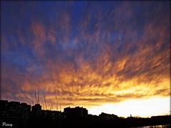 Fria tarde (peavy30) Tags: rio ebro zaragoza atardecer nubes sky cielo invierno landscape marzo