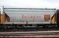 CB&Q Class LO-7 184299 (Chuck Zeiler) Tags: cbq class lo7 184299 burlington railroad covered hopper freight car cicero train chuckzeiler chz