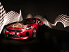 Light painting with car (tOntOnfred LP) Tags: light painting car voiture peinture lumière stinger kia red rouge