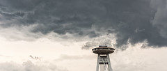 Bratislava (drasphotography) Tags: bratislava slovakia sky architecture looking up himmel cielo architektur most snp brücke bridge ponte drasphotography clouds wolken nuvole city new novy ufo