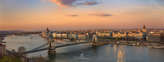 Panoramic View of Budapest, Hungary