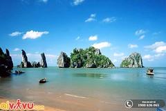 Hòn phụ tử - Phú Quốc (lthuong2608) Tags: bầutrời đạidương biểncả biển núi ngọnnúi mây bìnhminh cát