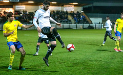 BL9U2919 (Stefan Willoughby) Tags: bamber bridge fc football club v hyde united march 2018 eco stik evostik league division 1 north non sir tom finned stadium lancashire