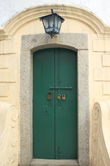 Door to the Guia Lighthouse in Macau (do_japan) Tags: macao macau sar special autonomous region china peoples republic asia 澳門 door lock light lamp lighthouse guia fortress hill architecture colonial colonialism history historical chinese portuguese unesco world heritage site