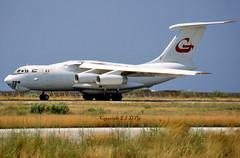 Ilyushin Il-76TD 3C-KKG Gulf Aviation (EI-DTG) Tags: planespotting aircraftspotting rhodes rho fourholer ilyushin ilyushin76 il76 freighter cargo gulfaviation 3ckkg yncew greece