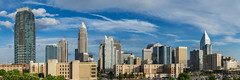 uptown afternoon.jpg (McMannis Photographic) Tags: photography charlotte northcarolina urban panorama skyline travel destination carolinas explore hornetsnest nc pano queencity southeast tourism uptown