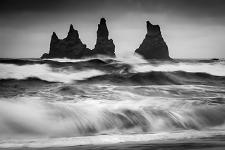 Rock and roll - Vik, Iceland