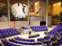 Bundestag, German Federal Parliament (aristantoaryo) Tags: europe european eurotrip destination interest tourism touristic holiday trip deutsche germany berlin bundestag parliament