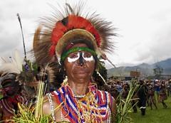 Portrait / Goroka show (michel David photography) Tags: papua newguinéa goroka show portrait tribe