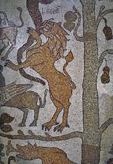 OTRANTO MOSAICO DI PANTALEONE 89n (opaxir) Tags: mosaico otranto pantaleo cattedrale puglia apulia leone