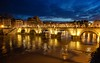 Roma (RM), 2018, Castel Sant'Angelo. (Fiore S. Barbato) Tags: italy lazio roma castel santangelo museo musei affreschi affresco angelo guerriero panorama panorami tramonto tramonti fiume tevere ponte ponti