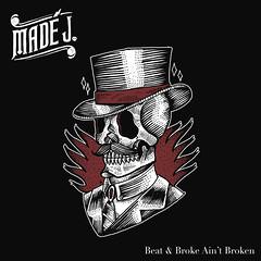 2014_Made_J_Beat_and_Broke_Aint_Broken_2014 (Marc Wathieu) Tags: rock pop vinyl cover record sleeve music belgium belgië coverart belgique pochette cd indie artwork vinylcover sleevedesign