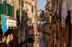 Venice impressions II (dieterein) Tags: italy italien italia venedig venice venezia photography city cityscabe river canal architecture architektur licht boot town water building early
