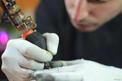 Oscar Colores (Paranoico (MDMAfia)) Tags: oscarcolores tinta color colour tatuaje tattoo luz rostro