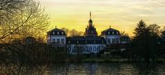 Schloss Philippsruhe (wernerfunk) Tags: castle sonnenuntergang