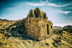 Miner's Home (KPortin) Tags: calicoca california themepark ghosttown rockhouse landscape ruins