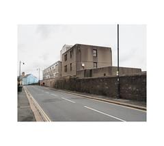 Millbay Road (chrisinplymouth) Tags: road pavement perspective plymouth devon england uk cw69x xg urban wall millbay wb city stonehouse