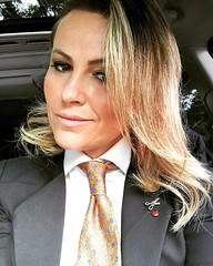 Carla Vasco (bof352000) Tags: woman tie necktie suit shirt fashion businesswoman elegance class strict femme cravate costume chemise mode affaire