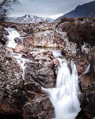 Buachaille Etive Mòr Waterfalls (_Shak_) Tags: ballachulish waterfalls scotland scottishhighlands buachailleetivemor glencoe