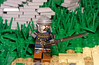 """Once more unto the breach, dear friends, once more!"" (Elven Ranger) Tags: lego castle war battle rebellug"