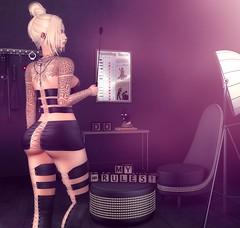 My Rules ! (desiredarkrose) Tags: stockholmlima stockings dress femdom mistress domme entwined unitedcolors white~widow ink tattoo dahlia slfashion blackfair2018 fapple