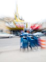 IP261: Zooming across the street (Thiophene_Guy) Tags: thiopheneguy originalworks fuji xs1 fujifilmxs1 kinetic zoomblur blur utata:project=ip261 ironphotographerchallenge