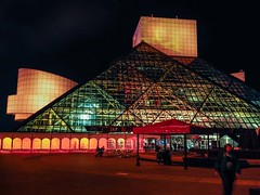 induction_day (gerhil) Tags: architecture building exterior night lights outdoor museum iconic rockansrollhalloffame cleveland cle music attraction landmark event induction repository culture popularculture 1001nights 1001nightsmagiccity