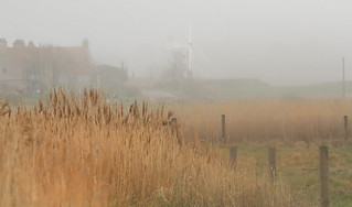 Cley Windmill in the Fog 2