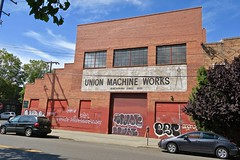 Union Machine Works, Oakland, CA (Robby Virus) Tags: union machine works 1885 oakland california ca east bay area abandoned vacant derelict building ghost sign signage