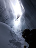 Ice Cave (Giulia La Torre) Tags: svalbard norway norge nordic northern north pole arctic artico nord wilderness wild nature landscape ice ghiaccio frozen planet earth cold weather extreme travel traveling traveller dogs dogsledding sledding sled sleddogs sleddog icecave cave
