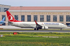 TC-JYL Boeing 737-9F2ER Turkish Airlines Corlu AGP 25-02-18 (PlanecrazyUK) Tags: lemg malaga–costadelsolairport malaga costadelsol tcjyl corlu agp 250218 boeing7379f2er turkishairlines