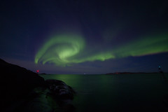 Aurora Borealis (maekke) Tags: norway tromsø tromso senja auroraborealis northernlight northernlights canon eos6d 14mm night sky stars longexposure 2017 travelling tourist