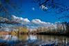 Paysage nature. (musette thierry) Tags: eau arbre bleu ciel reflet reflex musette thierry d800 nikon photographie photo photograph paysage landscape chabaudlatour contésurlescaut france hautsdefrance pasdecalais