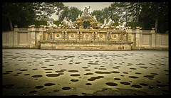 HDR Fontana principessa Sissi (Enrico Piolo) Tags: fontana ghiaccio acqua panorama residenza estiva principessa sissi vienna hdr