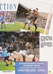 Scotland vs Romania - 1990 - Page 35 (The Sky Strikers) Tags: scotland romania rumania european championship qualifying match hampden park glasgow official souvenir matchday magazine two pounds
