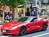 Chevrolet Corvette (CR1 Ford LTD) Tags: corvette chevrolet chevroetcorvette 2014corvette redcorvette red queenstreetauckland queenstreet auckland newzealand aucklandstreets