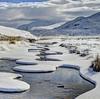 Clowns on velvet (pauldunn52) Tags: snow river dundonnel north west highlands scotland curves mountains
