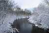 First Days Of Spring (unflux) Tags: conewago creek pa first morning spring snow canon 6d mark ii