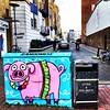 Peppa Brighton (Janardan das) Tags: unlimitedphotos travel pig streetart streetphotography brighton artwork art graffiti mobilephonegraphy iphonegraphy iphone365